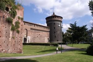castle castello sforzesco milan milaan italy