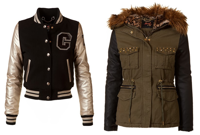 varsity parka coolcat wintercoats fashion shopping fashionblogger fashionblog sarandipity