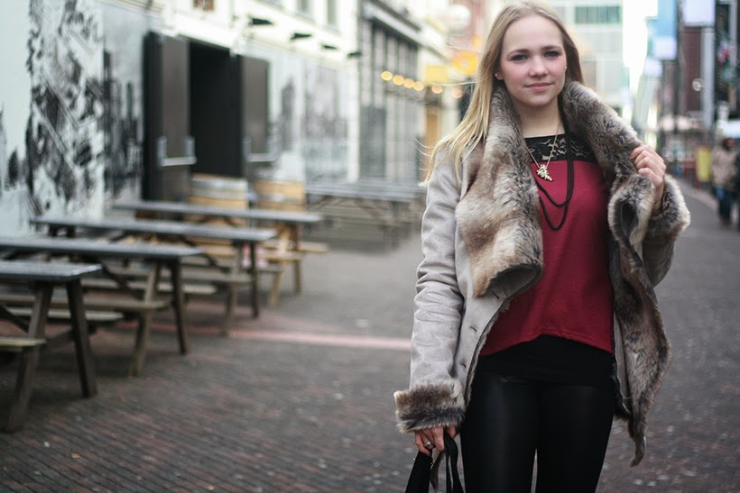 outfit fashionblogger fall fashion layers ootd lookbook sarandipity dutch fashionblog supertrash guess calvin klein