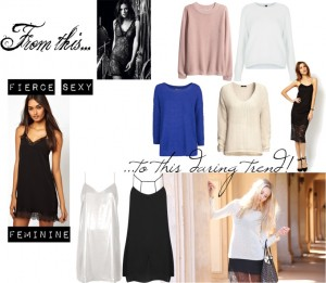 Daring trend; the slip dress trend fashion mode moda inspiration trend report fashionblog sarandipity polyvore asos mango topshop dutch fashionblogger