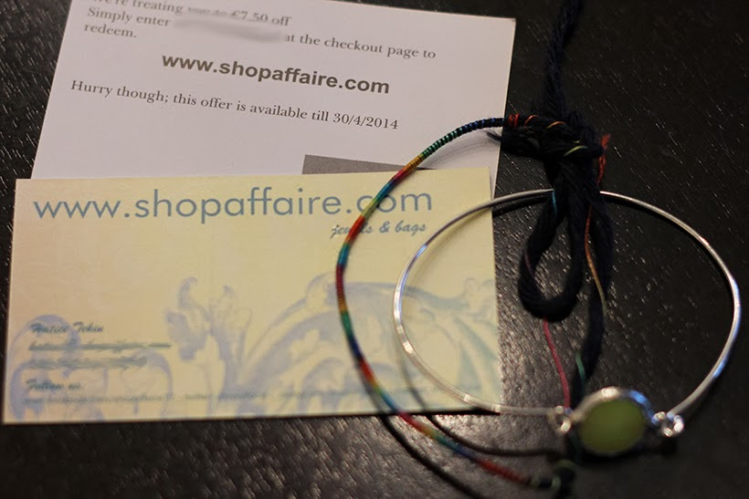 sarandipity giveaway winactie shopaffaire jewelry fashion blog bracelt shopping money