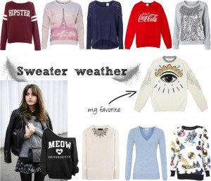Sweater weather kenzo style fashion mode trend report watching inspiration sarandipity fashion blog dutch blogger forever21 burberry reiss vero moda