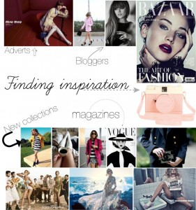 fashion blog sarandipity inspiration magazines vogue style mode adverts alexander wang mcqueen blumarine dolce e gabbana sonia rykiel jennifer lawrence the blonde salad kayture