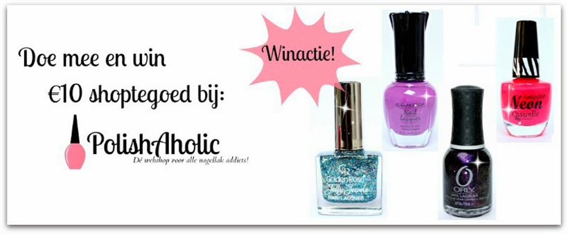 winactie sarandipity fashion blog beauty nailpolish nagellak polishaholic webshop giveaway