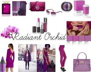 Trend: Radiant Orchid report fashion style mode inspiration pantone shopping makeup sarandipity blog