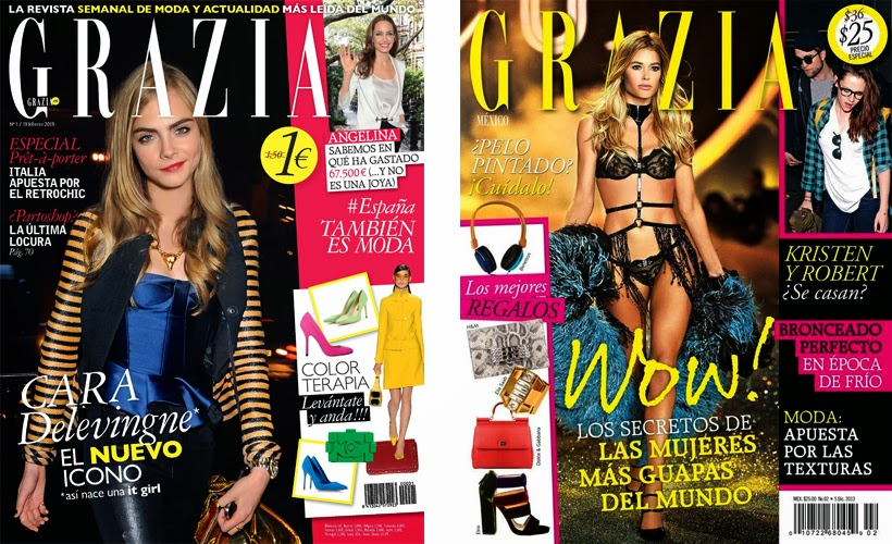 magazines redactie editorial office grazia