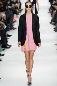 Christian Dior sarandipity fashion blog pink pastel pop color yellow fierce design frech parisienne