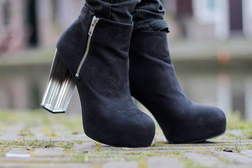 heels ombre gradient hm