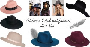 Fedora hats fashion blogger sarandipity trend asos boohoo mode styling