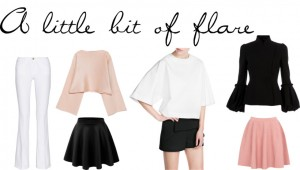 Trend: A little bit of flare