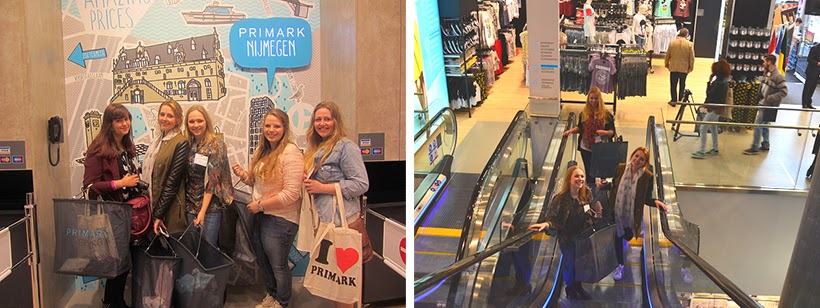 primark opening nijmegen press bloggers shopping girlfriends
