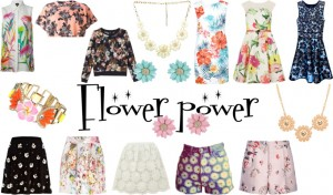 Flower print trend fashion styling floral sarandipity blog