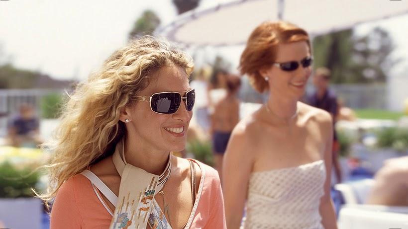 SATC Carrie Bradshaw sunglasses inspiration sarandipity blog