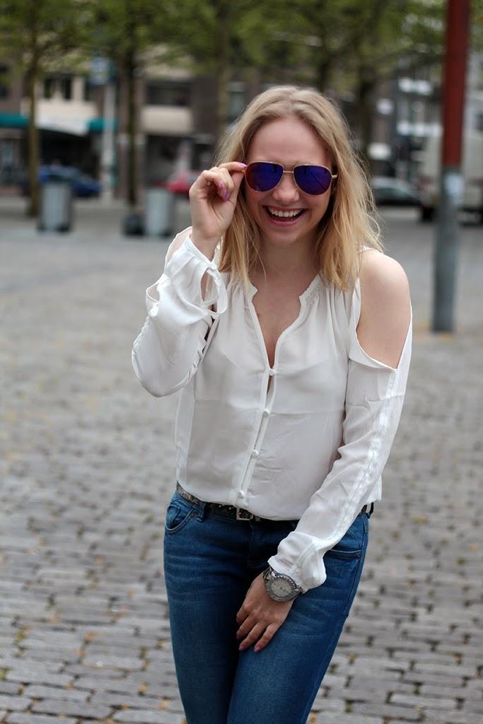 fashion style blog fun ikki watch marma glasses blonde