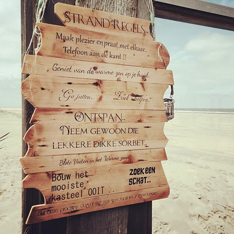 by dagmar valerie blogger blog vlieland strandregels beach rules inspiration
