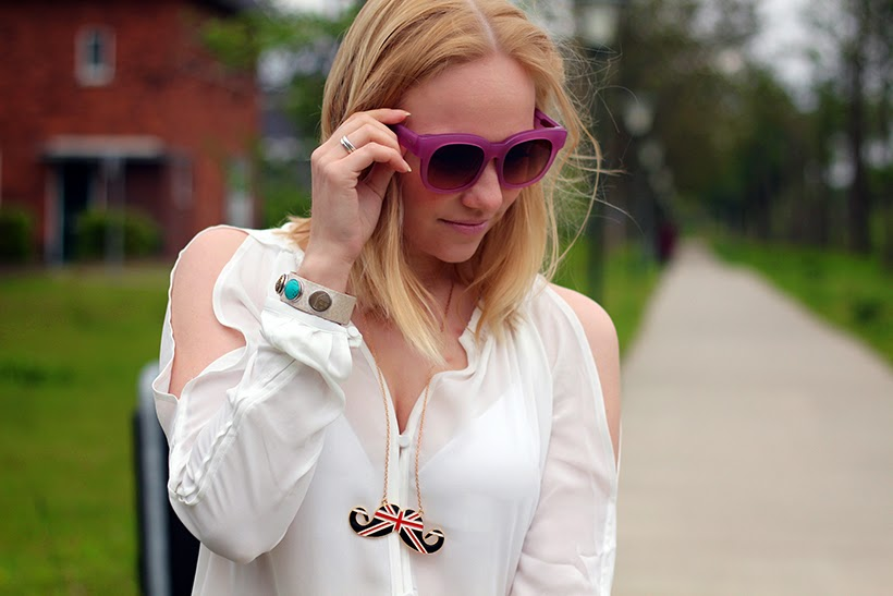 AM Eyewear fashion blog sarandipity eye respect amsterdam pink sunglasses blogger style