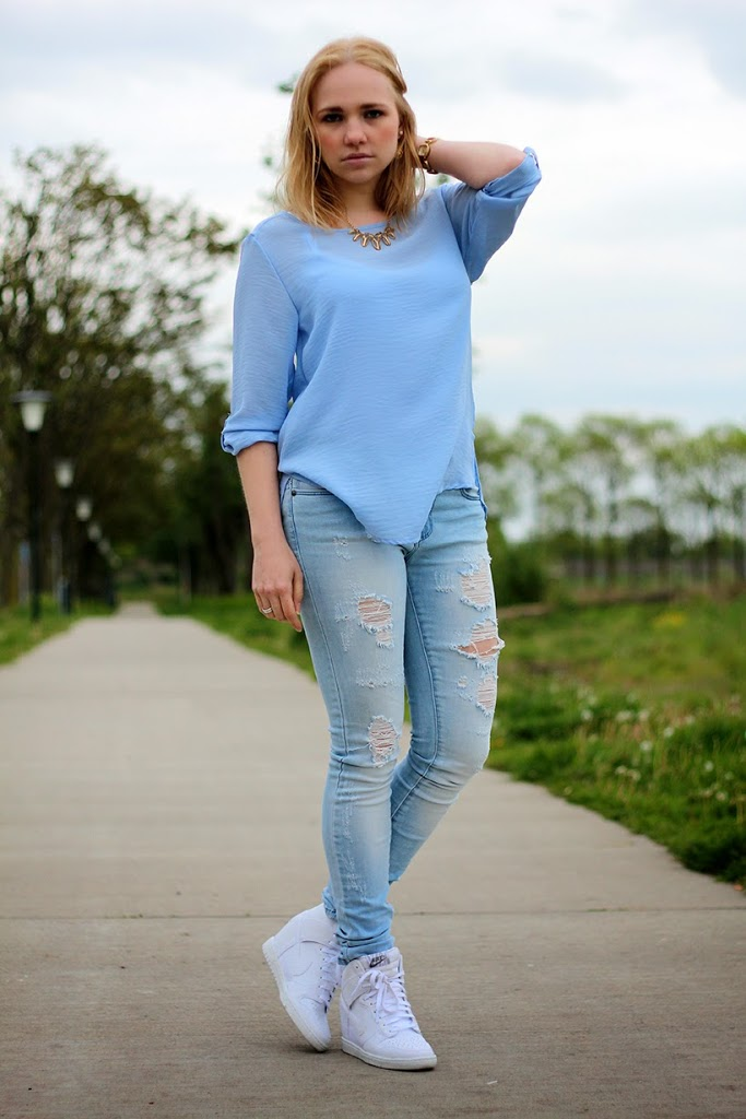 fashion blog outfit ootd look nike only primark fabmejewelry