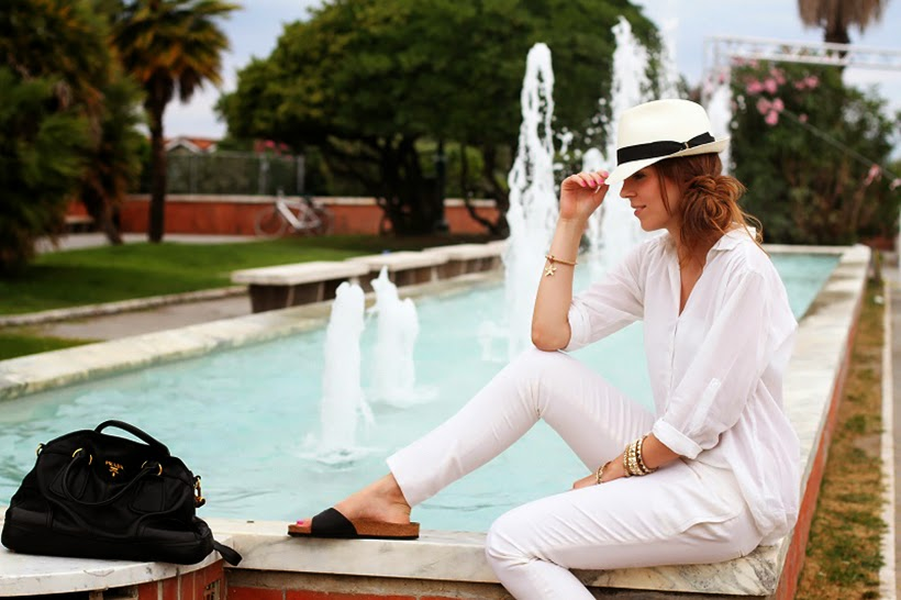 irenes closet birkenstocks sandals outfit ootd fashion trend