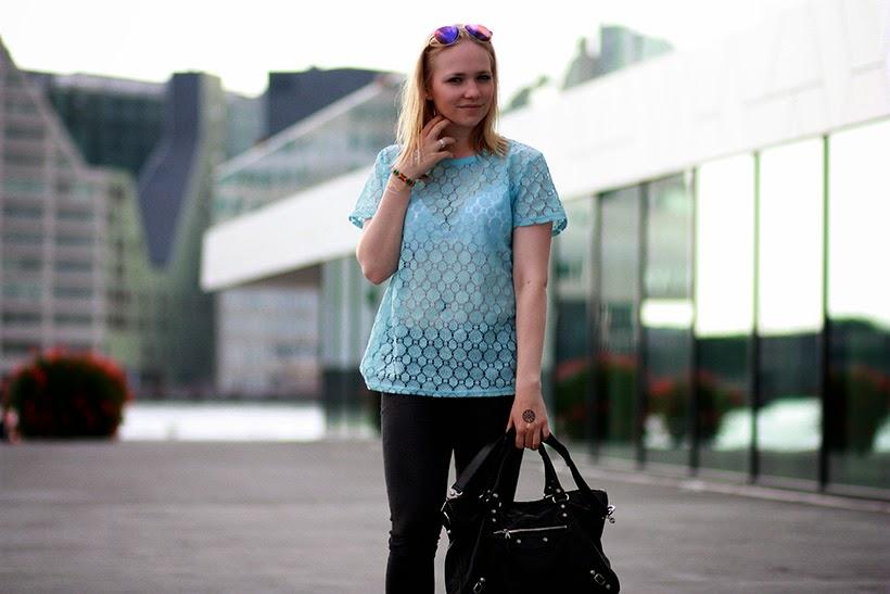 balenciaga bag fashion blogger ootd