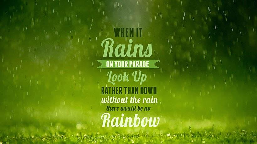 happiness happy challenge sarandipity change rain rainbow positivity
