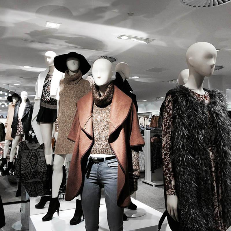 HMLovesRotterdam HM Flagshipstore Europe Mannequins