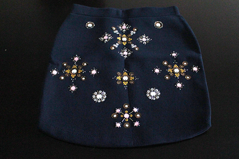 mega-fall-shoplog-hm-bejeweled-skirt-scuba-fashion