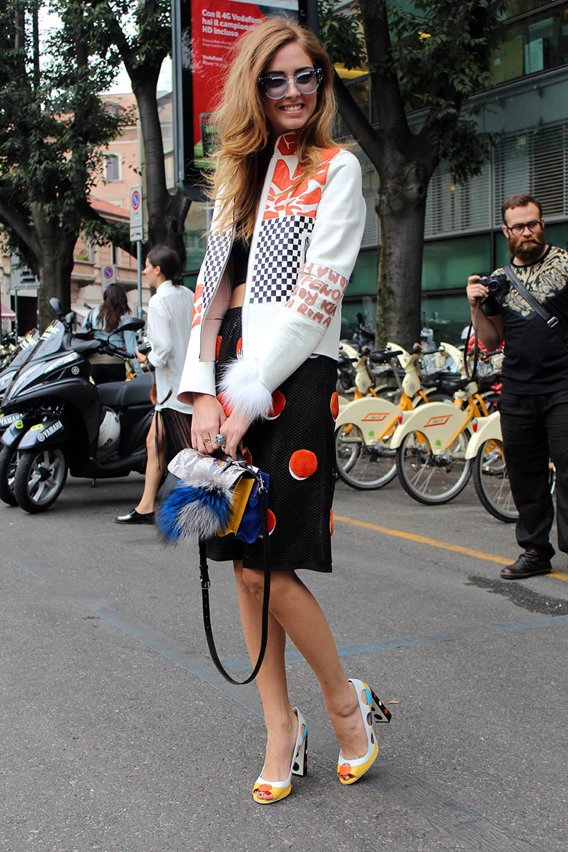 Colorful Street Style Fashion Week