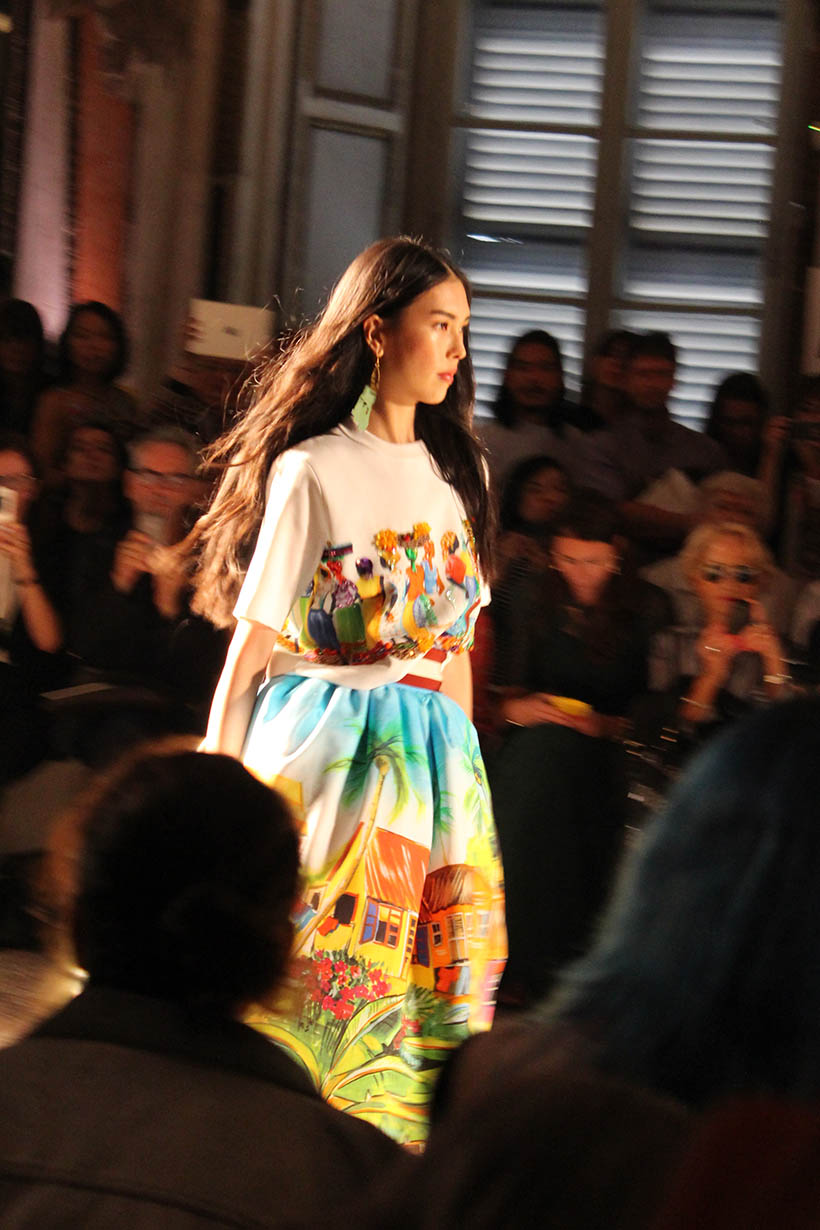 stella jean - milan fashion week - sarandipity - fashionshow 6