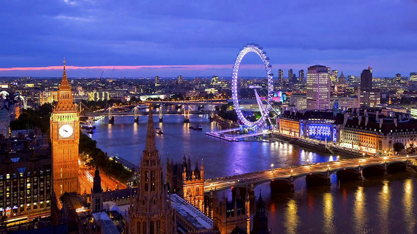 I am going to London baby