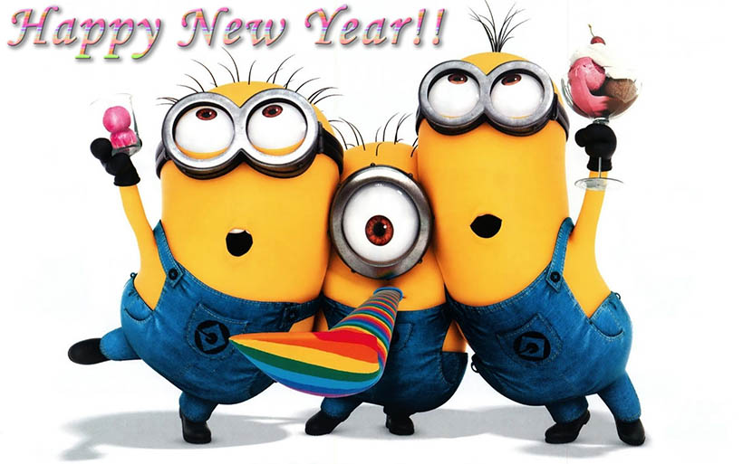 happy new year minions sarandaadriana sarandipity fashion blog