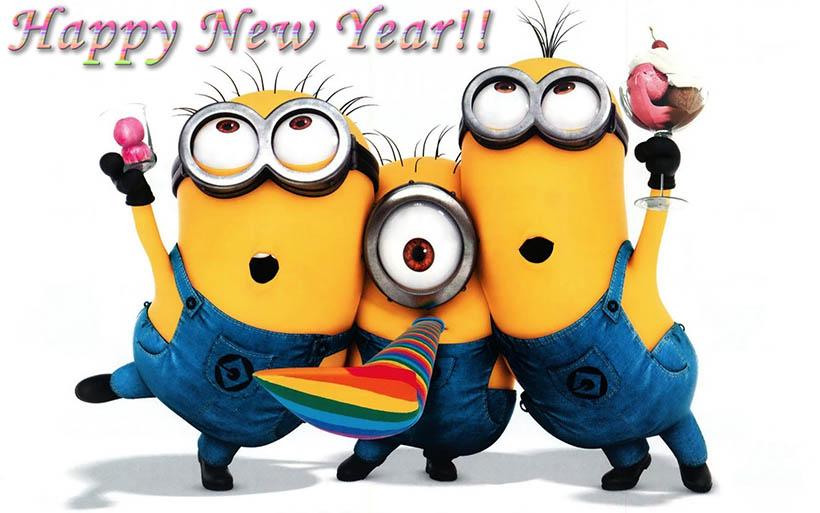 happy new year minions sarandaadriana sarandipity fashion blog