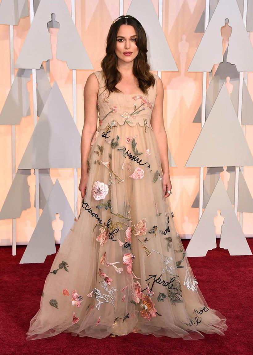 Top 10 fashion bloggers - Top 10 Oscar Academy Awards 2015 Keira Knightley Dresses Favorites By Dutch Fashion Blogger Sarandaadriana