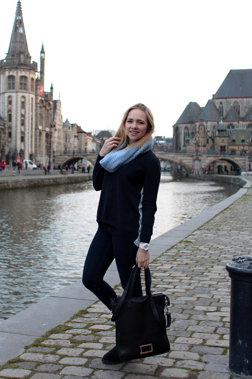 everyday outfit post OOTD fashion dutch blogger streetstyle citytrip ghent belgium1