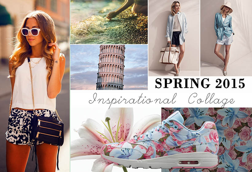 Wednesdays Pinspiration Spring 2015 inspirational collage dutch fashion blogger sarandaadriana