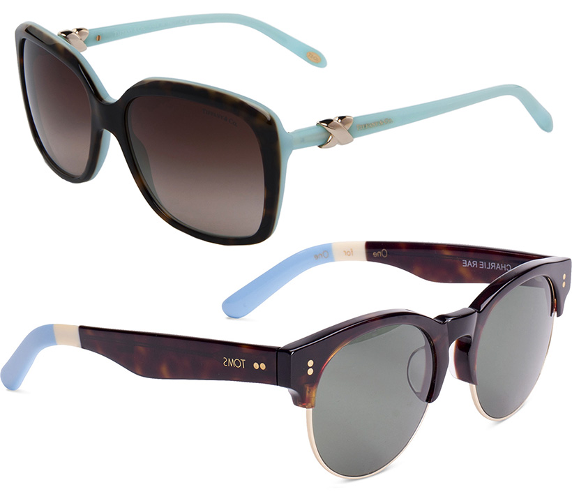 top 5 fashion musthaves statement sunglasses color design shape TOMS TIFFANYs