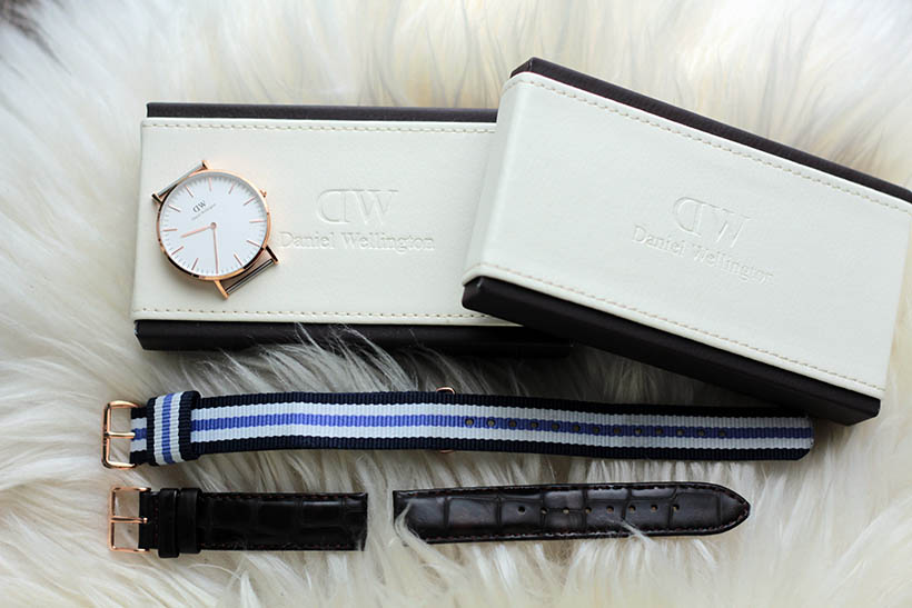 Daniel Wellington SarandaAdriana fashion blogger watch  leather classic york9