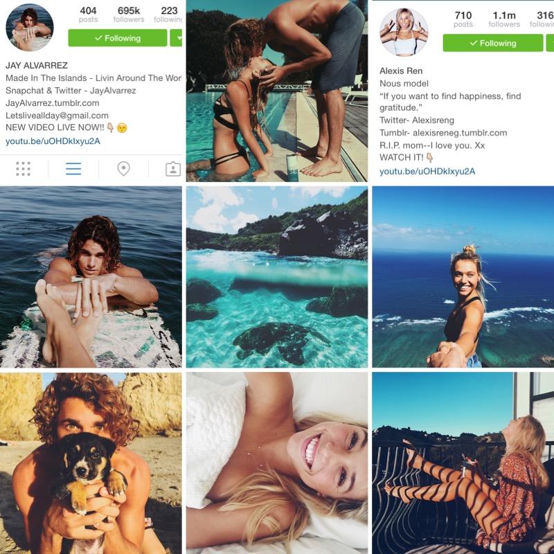 top 5 instagram acounts