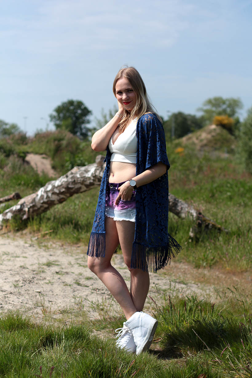 coolcat diy festival shorts outfit ootd dutch fashion blogger sarandaadriana8