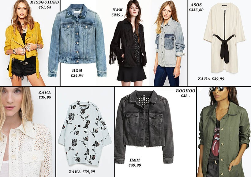Top 10 favorite summer jackets