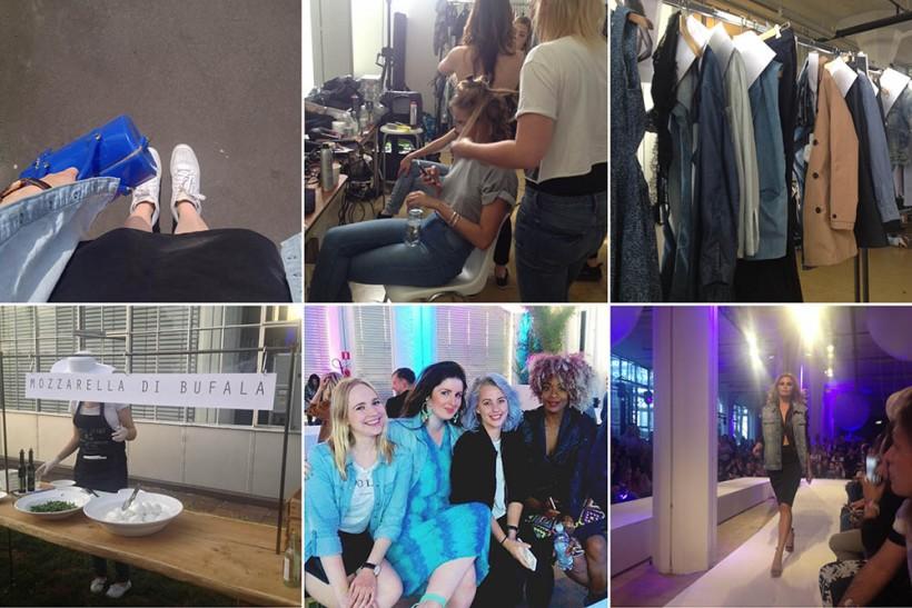 garcia jeans fw15 show snapshots