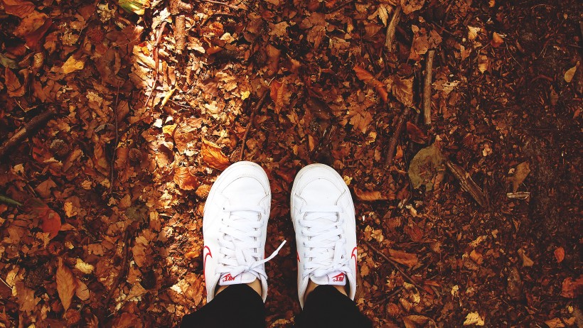 fall musthaves fashion white sneakers