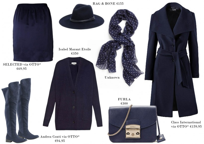 all about navy otto isabel marant furla rag bone