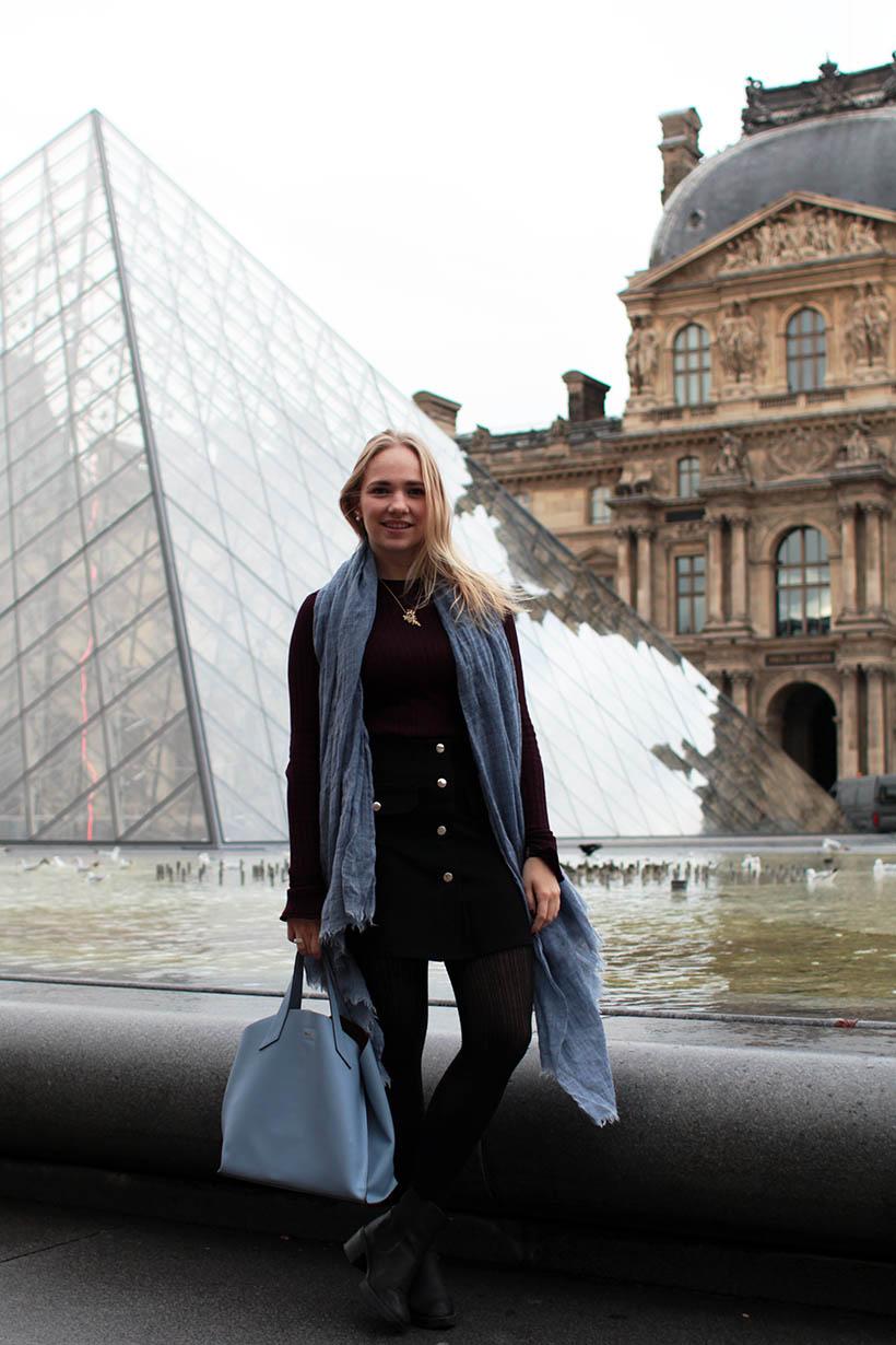 Louvre Outfit ootd fashion blogger SarandaAdriana paris dutch blog style zara imyf asos furla3