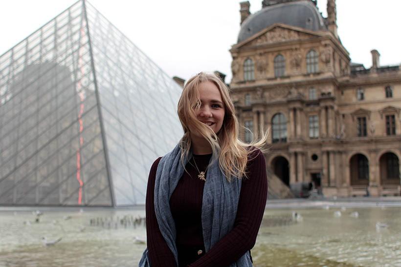 Louvre Outfit ootd fashion blogger SarandaAdriana paris dutch blog style zara imyf asos furla4