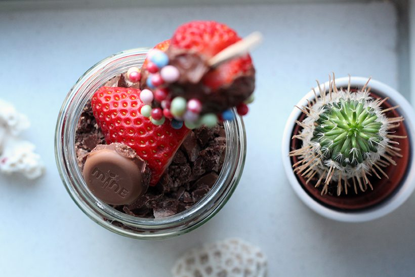 hands off my chocolate valentines day recipe yoghurt parfait