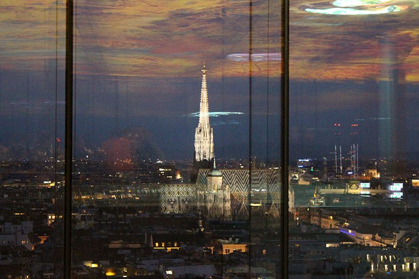 Travel three days in Vienna le loft sofitel skybar