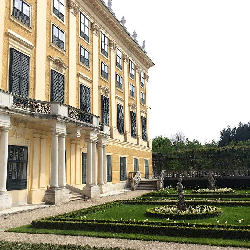 Travel three days in Vienna schloss schonbrunn