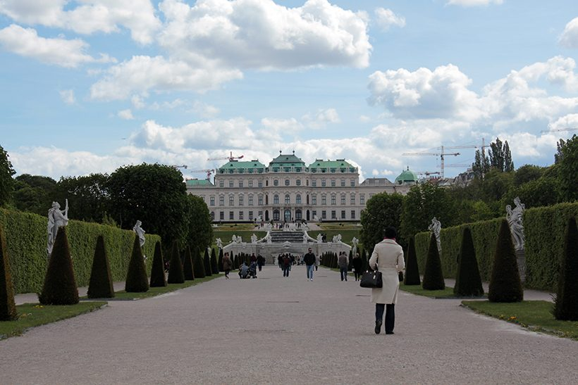 travel three days in vienna belvedere