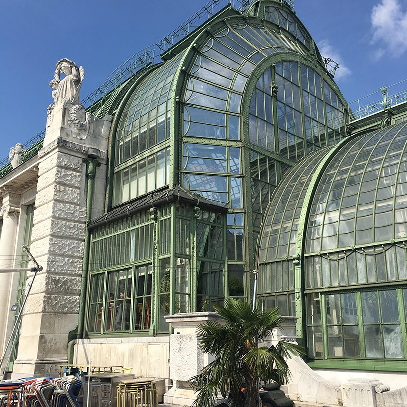 travel three days in vienna palmenhaus