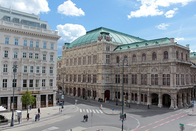travel three days in vienna-wenen-wien-opera
